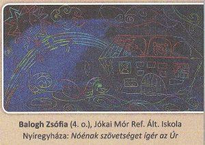 Noénak szövetséget ígér az Úr